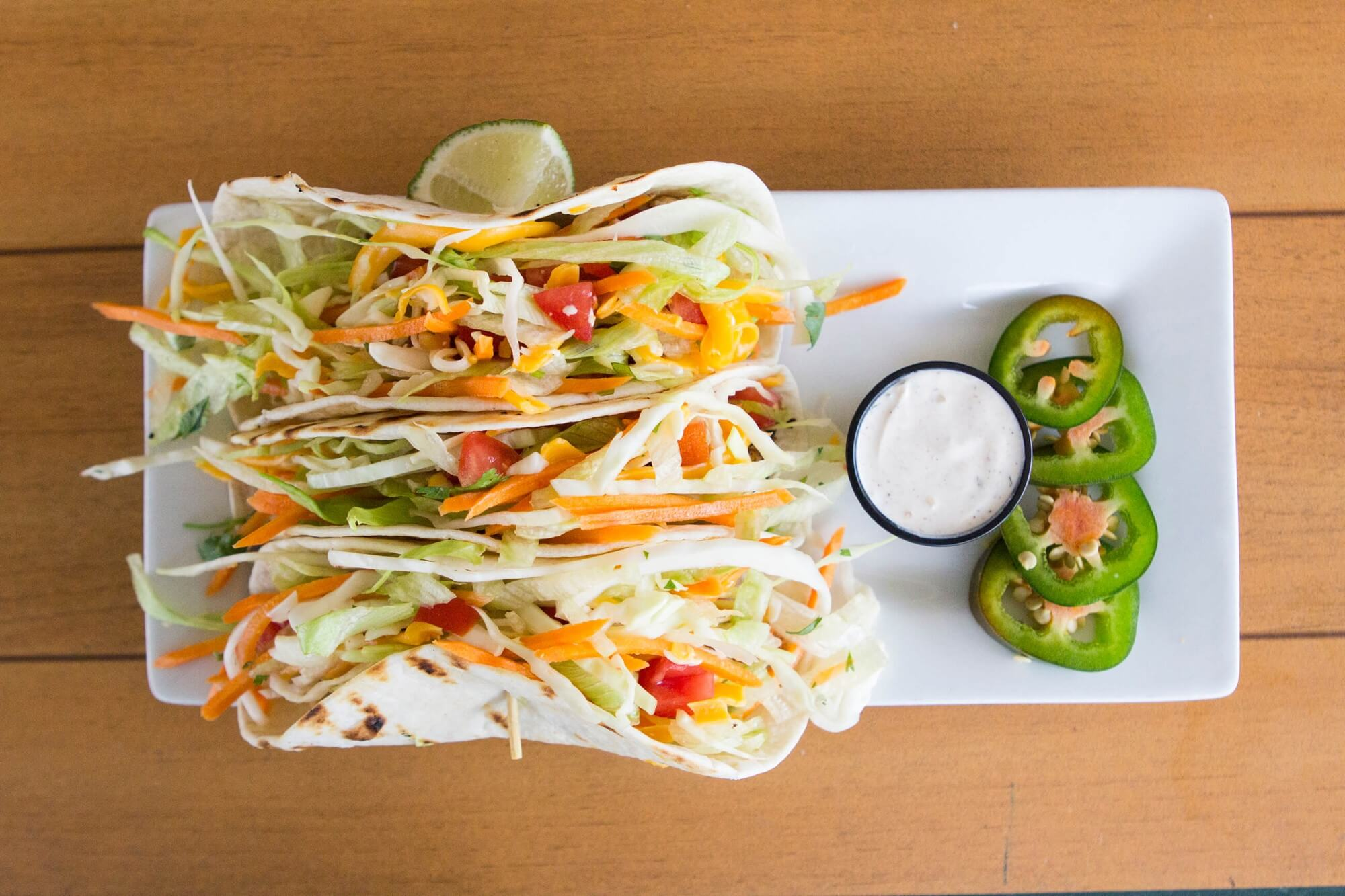 Adams Grille & Taphouse tacos